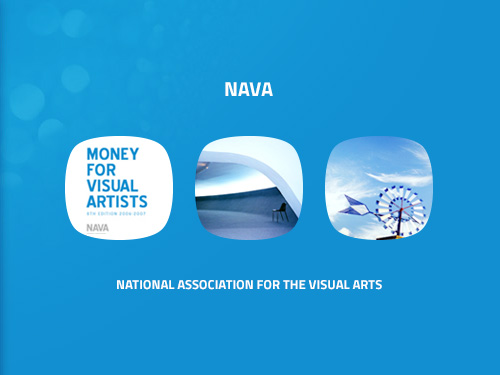 portfolio thumbnail for NAVA website
